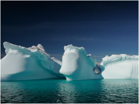 Iceberg in Greenland (creative commons)