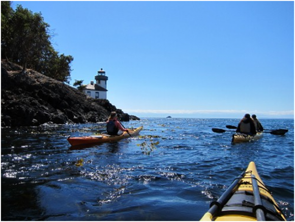 San Juan Islands Kayaking (creative commons)