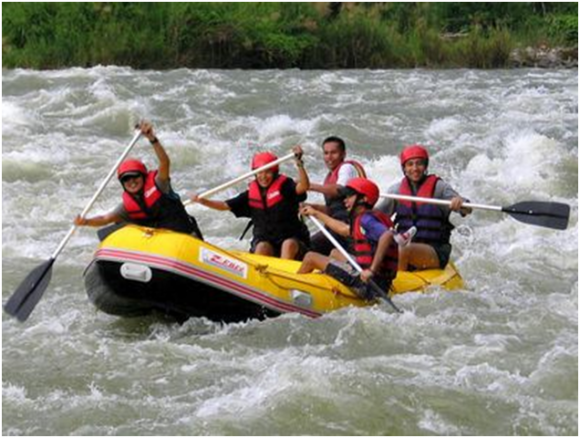 White Water Rafting on Cagayan River (creative commons)