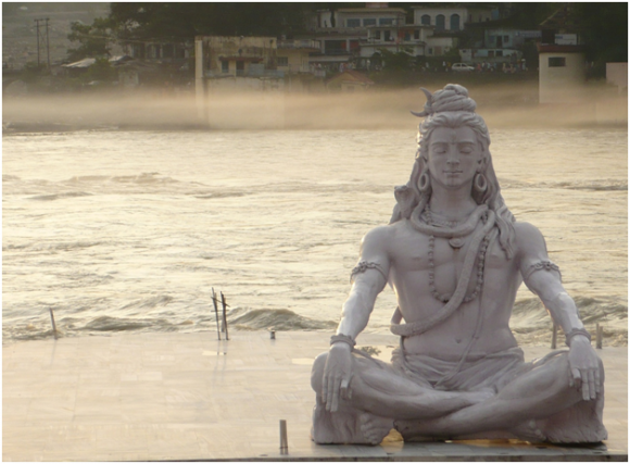 Shiva in Rishikesh (creative commons)