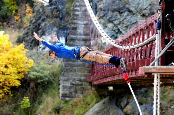 Bungee jump by Photo by Los viajes del Cangrejo (creative commons)