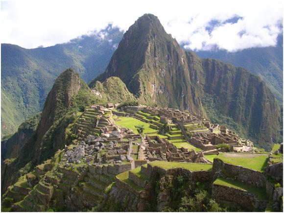 Machu Picchu ( creative commons)