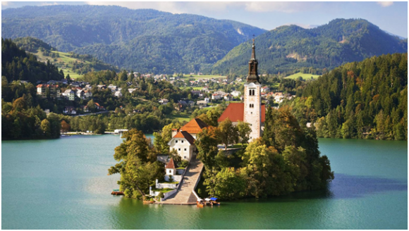 The Bled Lake, Slovenia (creative commons)