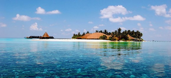 An Indian Ocean Paradise, The Maldives (Creative Commons)