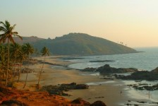 India_Goa_Vagator_Beach_General_view