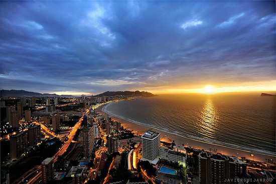 Benidorm by Javier Guijarro (creative commons)