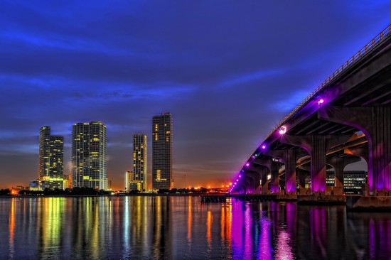 Miami Skyline by Aerostylaz (Creative Commons)