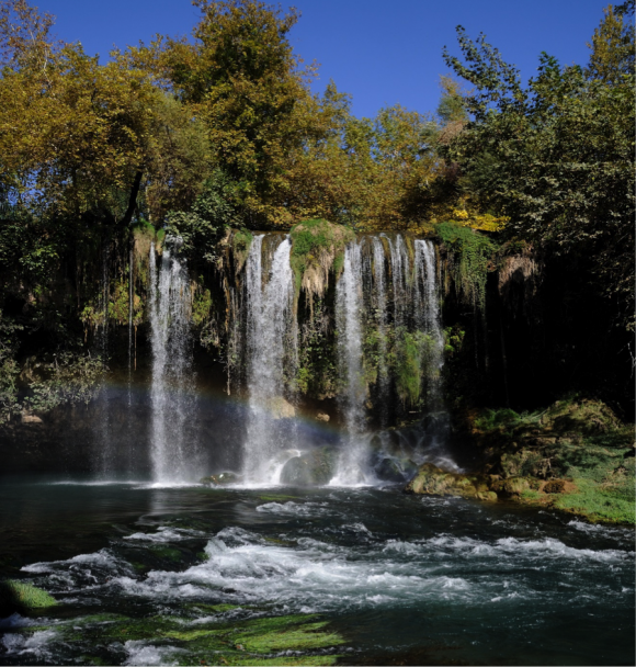 Duden Waterfalls in Turkey