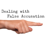 How to tackle with false accusations and criminal charges?