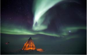 South Pole Aurora Australis