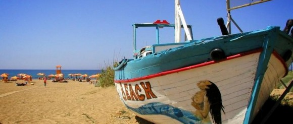 Malia beach by photosarusrex (Creative Commons)
