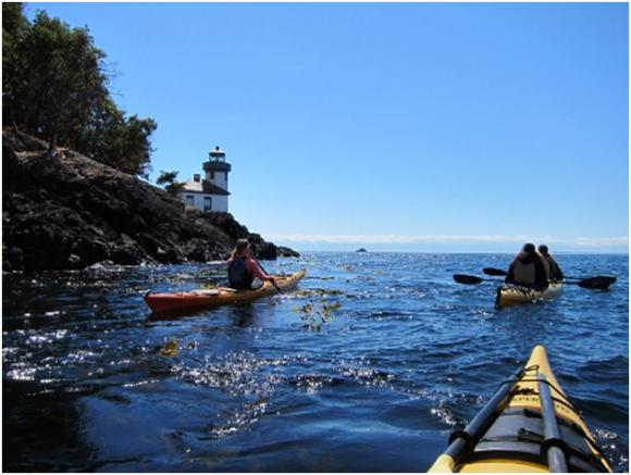 San Juan Islands Kayaking (creative commons)