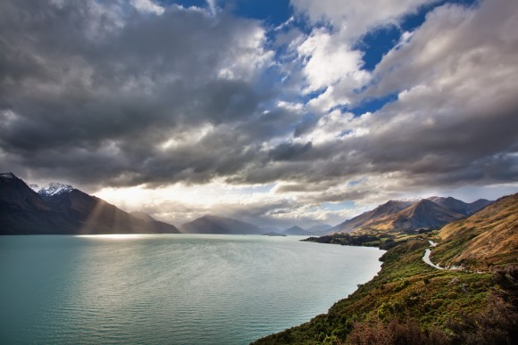 Lake Wakatipu in New Zealand Creative Commons- Christopher Schoenbohm, 2010 Source- Flickr