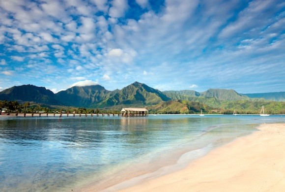 Hanalei Bay by M.M. Sweet (Creative Commons)