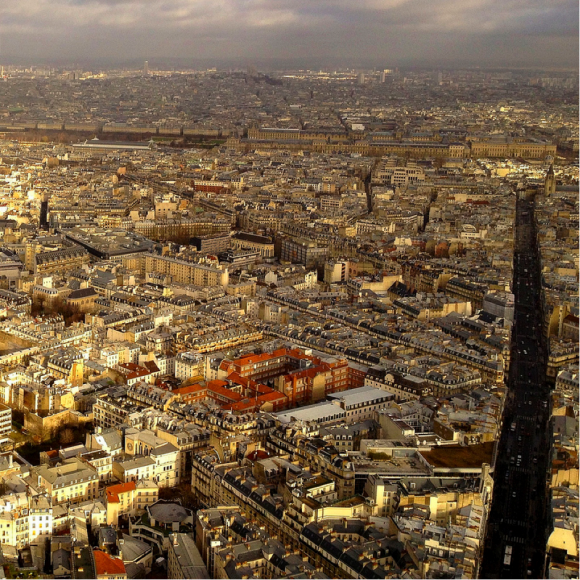 Paris by Bob Hall (Creative Commons)