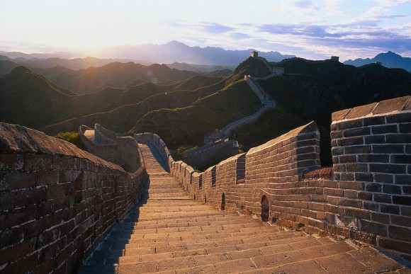 The Great Wall of China (creative commons)