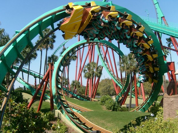 Kumba at Busch Gardens Tampa (Creative Commons)