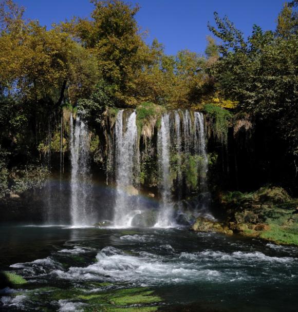 Duden Waterfalls in Turkey