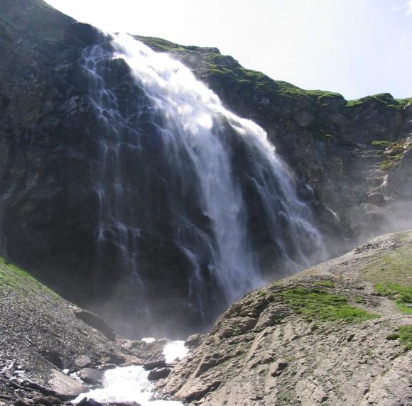 Engstligen Falls in Switzerland